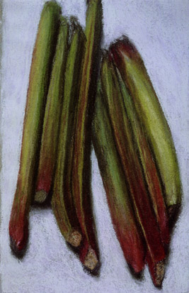 Rhubarb, 1989 - Avigdor Arikha
