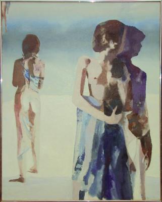 A Woman's Shadow, 1983 - Balcomb Greene