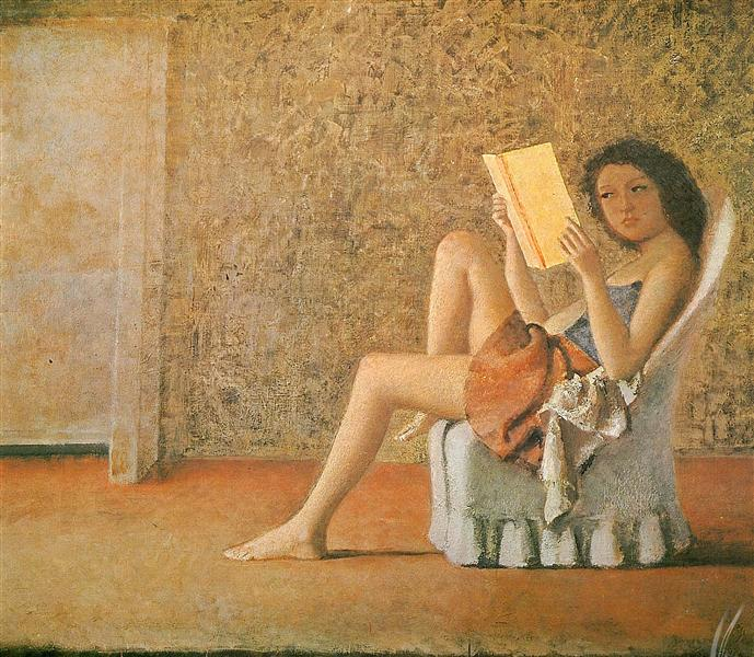 Katia reading, 1974 - Balthus
