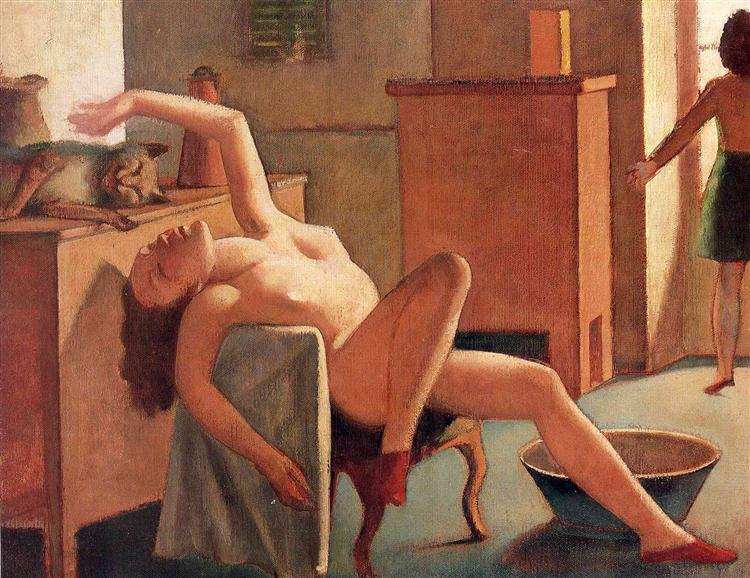 Nude with Cat, 1949 - Balthus