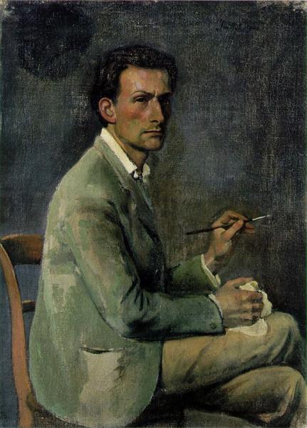 Self-portrait, 1940 - Бальтюс