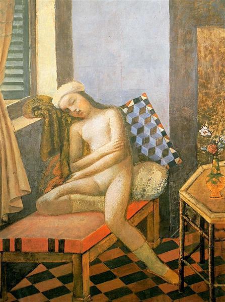 Sleeping Nude, 1980 - Balthus