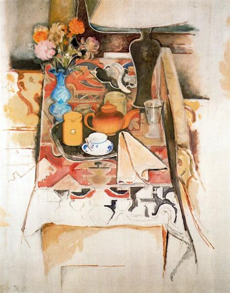Still Life with Lamp, 1958 - Balthus