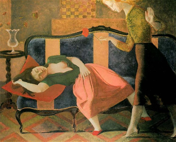 The Dream, c.1955 - Balthus