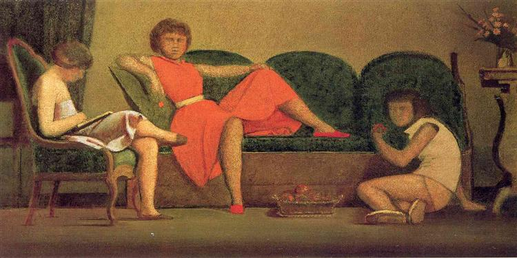 Three sisters, 1954 - Balthus