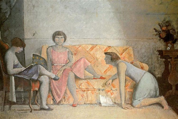 Three sisters, 1964 - Balthus