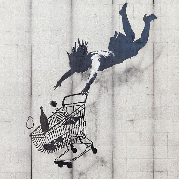 Shop Until You Drop - Banksy
