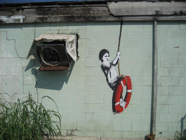 Swinger, New Orleans - Banksy