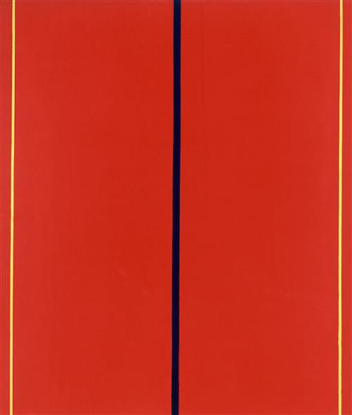 Who's Afraid of Red,  Yellow and Blue II, 1969 - 1970 - Barnett Newman