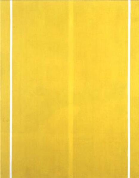 Yellow Painting, 1949 - Barnett Newman