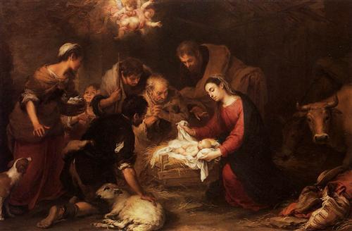 Adoration of the Shepherds - Bartolome Esteban Murillo