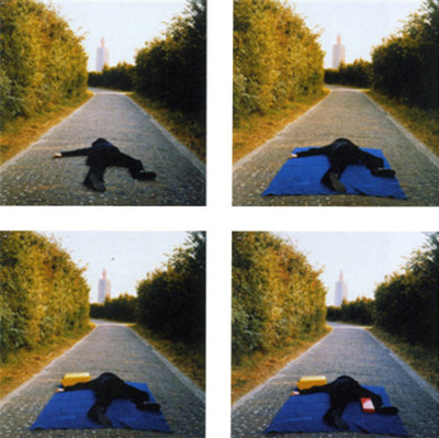 On the Road to a New Neo-Plasticism, Weskapelle, Holland - Bas Jan Ader