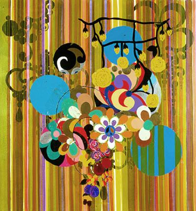 Sul da América, 2002 - Beatriz Milhazes