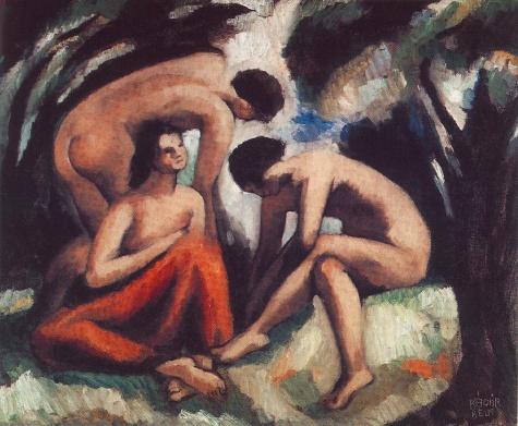Three Nudes - Bela Kadar