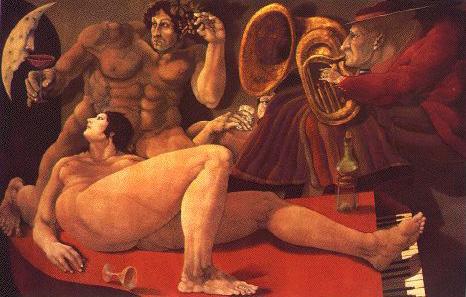 Bacanal, 1982 - Benjamin Canas