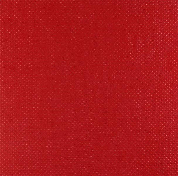 Structures Monochromes Rouges: D, 1960 - Bernard Aubertin