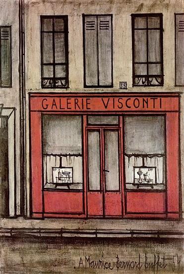 Galerie Visconti, 1954 - Bernard Buffet