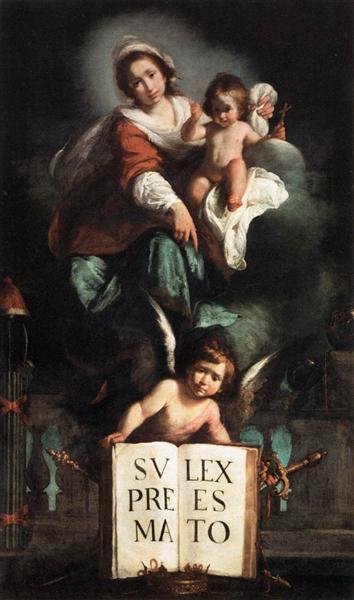 The Madonna of Justice, 1620 - 1625 - Bernardo Strozzi