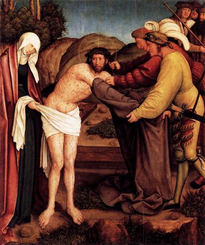 Disrobing of Christ - Bernhard Strigel
