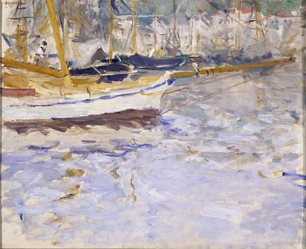 The Port of Nice, 1881 - 1882 - Berthe Morisot