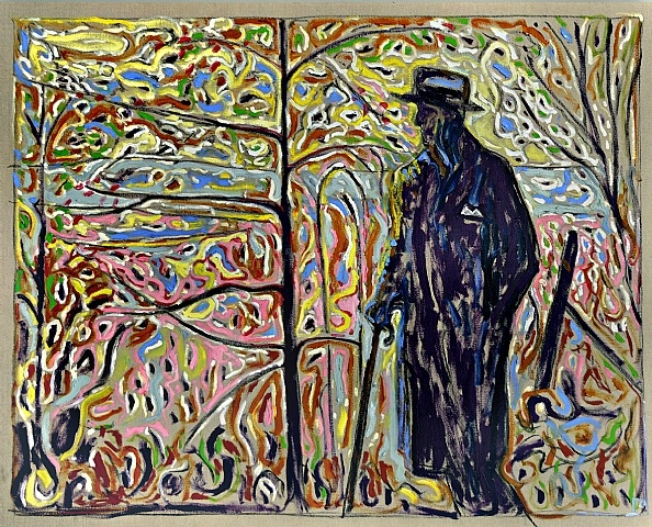 Sibelius Amongst Saplings, 2010 - Billy Childish