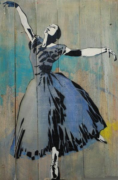 Ballerina, 2011 - Blek le Rat