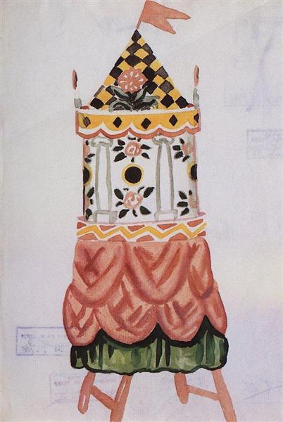 Tower, 1926 - Borís Kustódiev