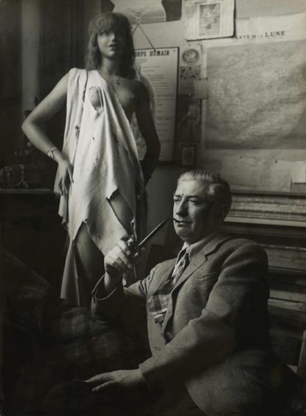 Félix Labisse, 1948 - Брассай