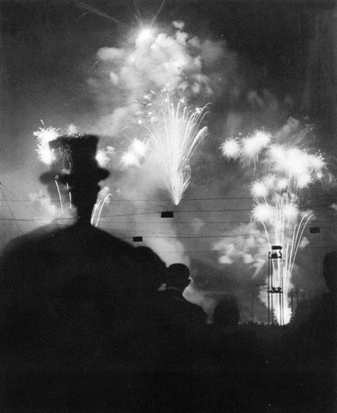 Paris de nuit, 1932 - Brassai