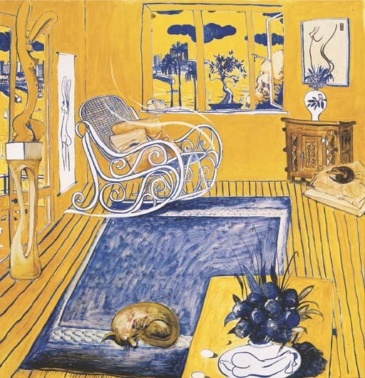 The Cat, 1980 - Brett Whiteley