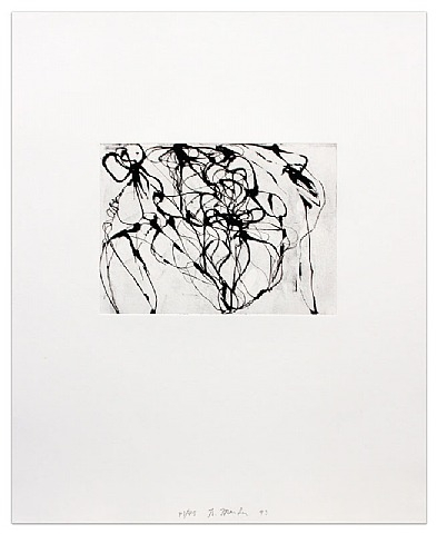 After Botticelli 3, 1994 - Brice Marden