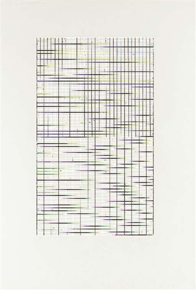 Untitled (from Adriatics) - Brice Marden