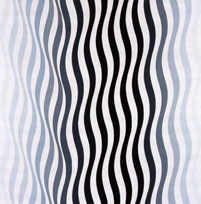 Arrest 1, 1965 - Bridget Riley