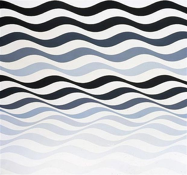Arrest 3, 1965 - Bridget Riley