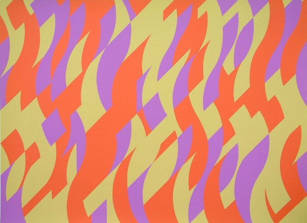 Carnival, 2000 - Bridget Riley