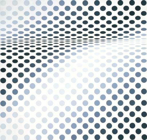 Hesitate, 1964 - Bridget Riley