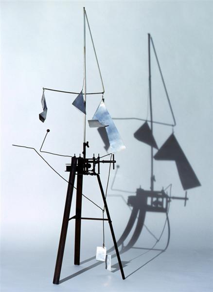 Useless Machine (Arrhythmic Carousel), 1953 - Bruno Munari