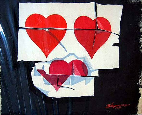 Three Break-ups, 1977 - Burhan Dogancay