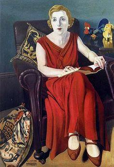 Portrait of Signora Vighi, 1930 - Cagnaccio di San Pietro
