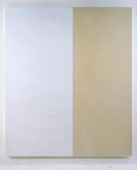Exposed White Painting No.3, 1992 - Callum Innes