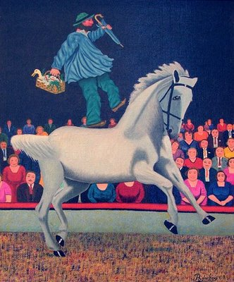 The White Horse - Camille Bombois