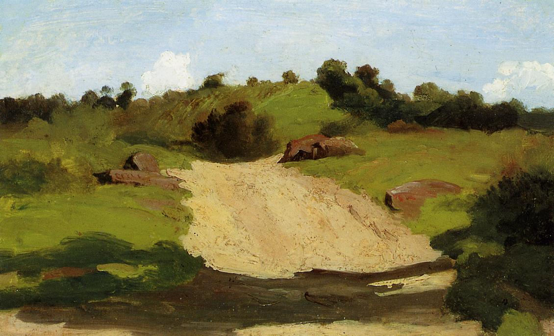 A rising path camille corot for Camille corot