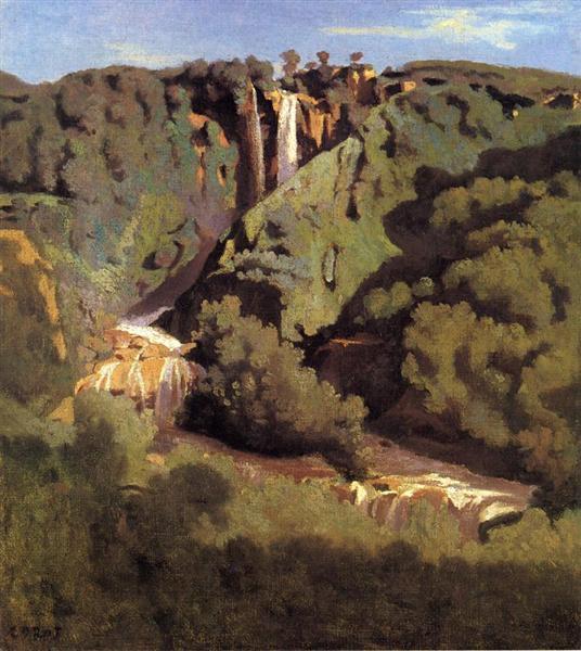 Cascade of Terni - Camille Corot