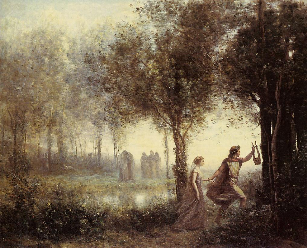 Orpheus Leading Eurydice from the UnderworldOrpheus And Eurydice