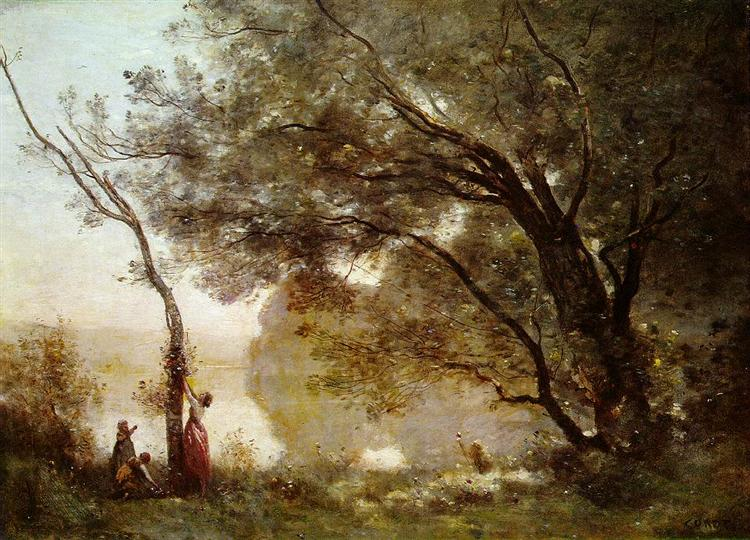 Souvenir of Mortefontaine, 1864 - Camille Corot