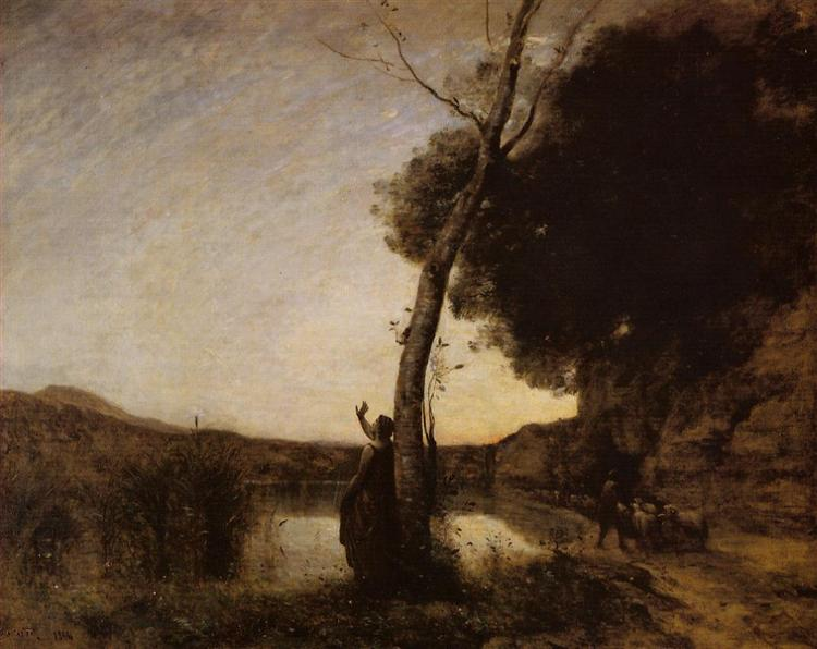 The Evening Star, 1864 - Camille Corot