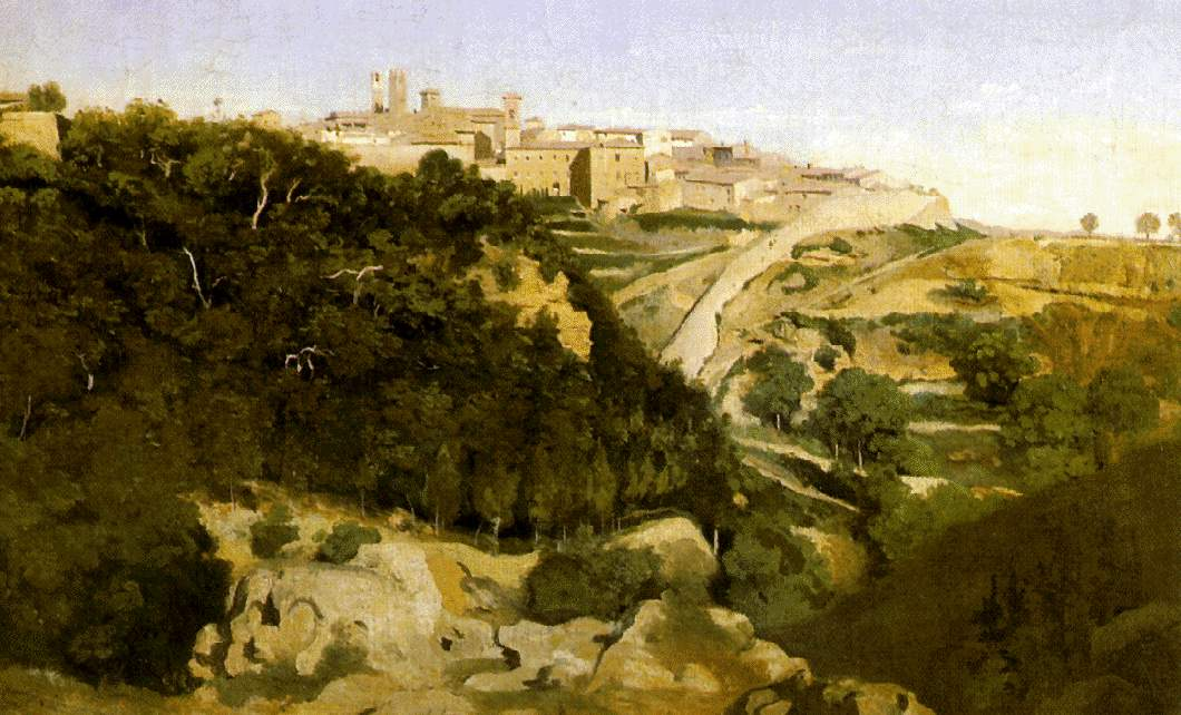 Volterra 1834 camille corot for Camille corot