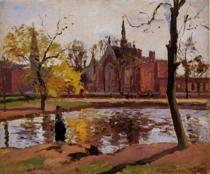 Dulwich College, London, 1871 - Камиль Писсарро