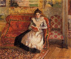 Jeanne Reading - Camille Pissarro