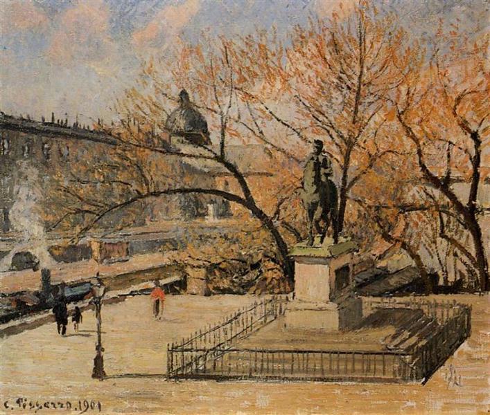 The Pont Neuf, 1901 - Камиль Писсарро